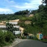 Jalur jalan wisata Malang selatan di desa Srigonco, Bantur, yang akan dibangun kembali menghadapi kendala dalam pembebasan lahan warga (dok MalangTIMES)