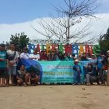Keluarga besar FEB Unikama yang tengah melakukan Gathering (Unikama for MalangTIMES)