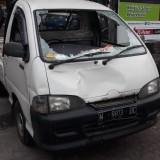 Kendaraan yang menabrak Ibu hamil hingga tewas di Jalan Tumenggung Suryo (Unit Laka)