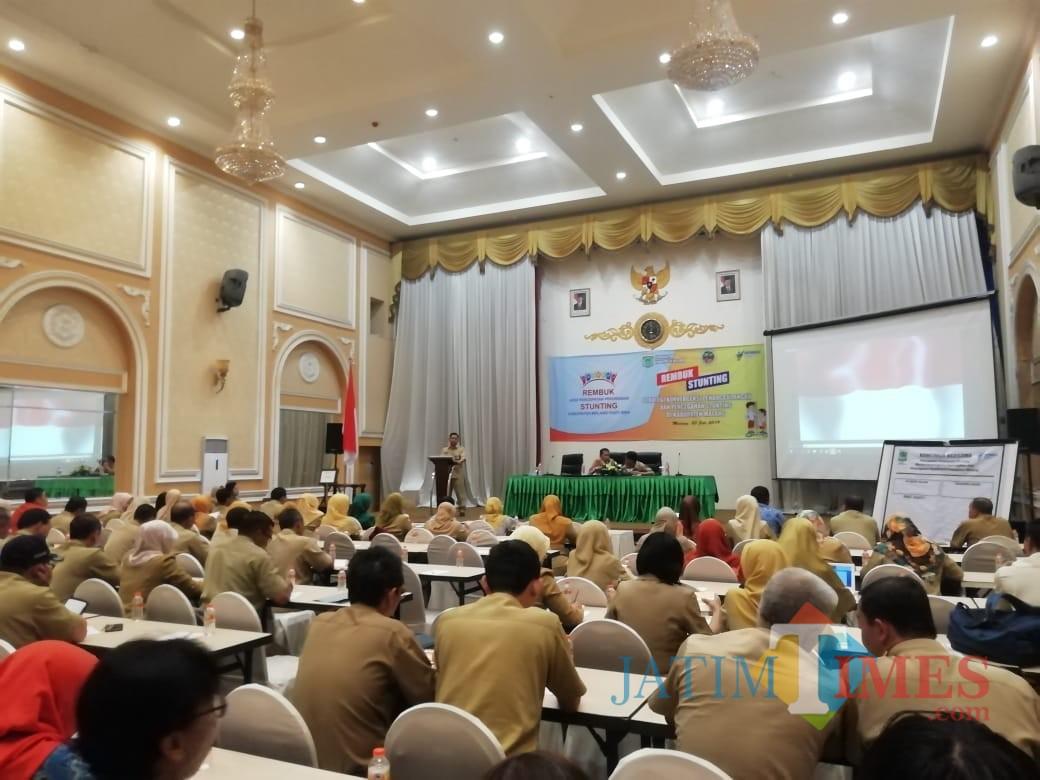 Rembug Stunting diapresiasi oleh Sekda Kabupaten Malang Didik Budi Muljono (Nana)