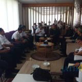 Rombongan dari PT. KAI Daop 9 Jember melakukan audiensi dengan Pemkab Banyuwangi