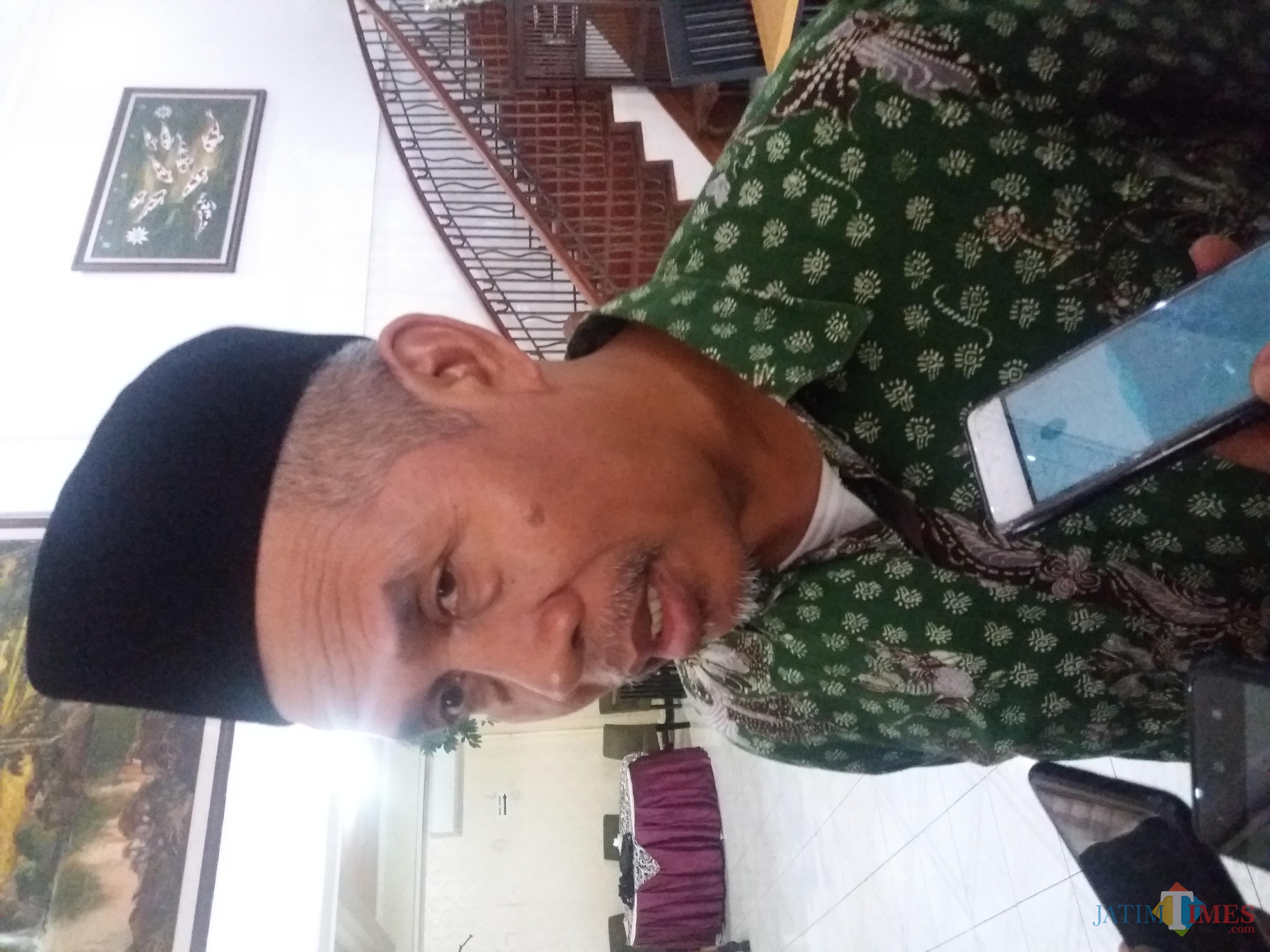 Ketua PWNU Jatim KH Marzuki Mustamar
