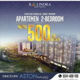 Investasi Terbaik di Lokasi Premium, Apartemen The Kalindra 2 Bedroom Hanya Rp 500 Juta-an