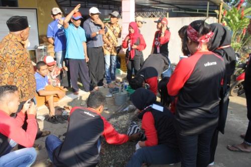 KKN Unikama di Desa Ringin Kembar, Kecamatan Sumbermanjing Wetan, Kabupaten Malang. (Unikama For MalangTIMES)