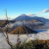 Ilustrasi pemandangan di Gunung Bromo (Foto: Istimewa)