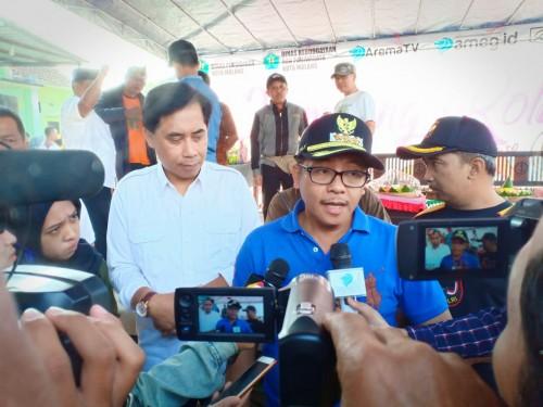Wali Kota Malang Sutiaji (tengah) (Humas Pemkot Malamg for MalangTIMES).