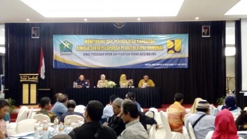 Suasana saat beberapa waktu lalu, Bidang Amal mengumpulkan pengelola IPAL dan perwakilan RW (DPUPR)