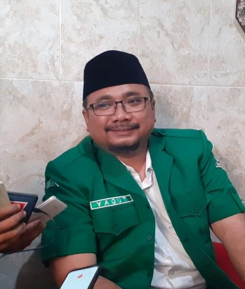 Ketua Umum PPGP Ansor Yaqut Cholil Qoumas (Arifina Cahyanti Firdausi/MalangTIMES)
