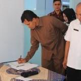 Plt Kadinkop dan UMKM Tulungagung, Sunaryo (baju putih) (ist)