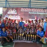 Tim Argensta SMPN 01 Sukodono Lumajang yang berlaga dalam Sanggrapalawa Open 2019 (Foto : Moch. R. Abdul Fatah / Jatim TIMES)