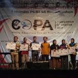 Prestasi membanggakan Mapala Unisba Blitar di ajang Competition of Pawitra di UNIPA Surabaya