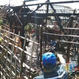 Rumah di Junrejo Kembali Terbakar, 3 Sapi Lepas Sendiri