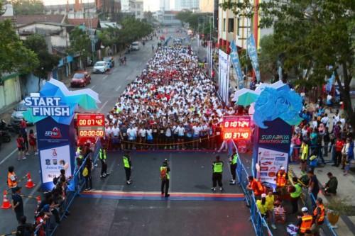 Surabaya Marathon tahun 2018 lalu