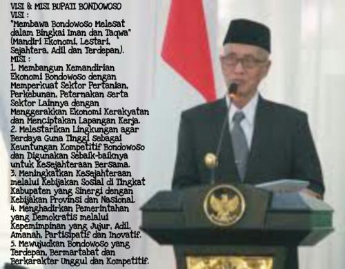 Bupati Salwa dengan Visi Bondowoso Melesat (Foto:Indra Setiawan/BondowosoTIMES)