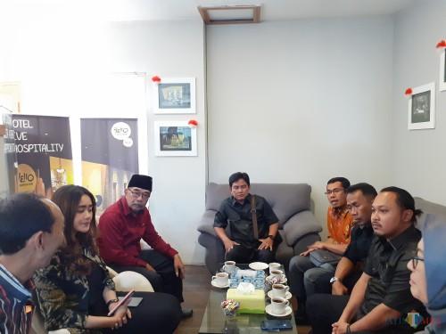 Anggota Komisi C DPRD Kota Malang saat melakukan sidak ke Apartemen Nayumi Sam Tower (Arifina Cahyanti Firdausi/MalangTIMES)