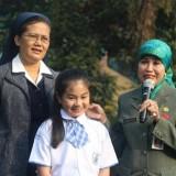 Kadindik Apresiasi Siswi SDK Santa Maria II Malang yang Meraih 3 Medali WCOPA di California, Amerika