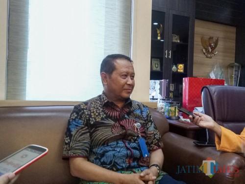 Wakil Rektor Bidang Kemahasiswaan UB,Prof Dr Drs Abdul Hakim MSi. (Foto: Imarotul Izzah/MalangTIMES)