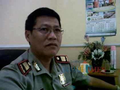 Kabag Ops Kabag Ops Polres Probolinggo Kota  AKP Hermawan (Agus Salam/Jatim TIMES)
