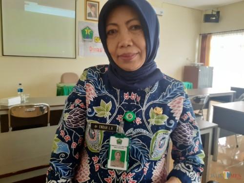 Kasi Pelayanan Kesehatan Primer (Yanprimer) Dinkes Kota Malang, dr. Endah Listiya Angraeni (Arifina Cahyanti Firdausi/MalangTIMES)