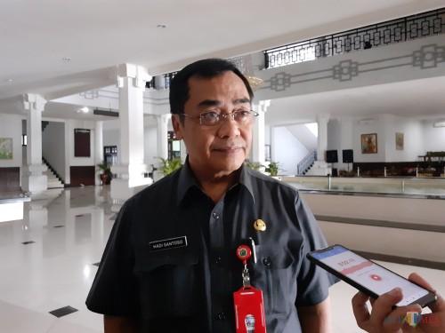 Kepala Dinas PUPR Kota Malang, Hadi Santoso (Arifina Cahyanti Firdausi/MalangTIMES)