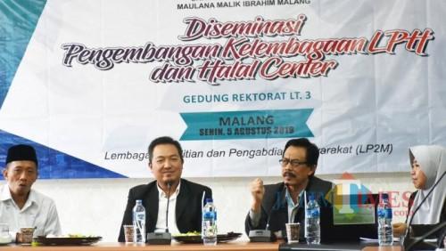 Diseminasi Pengembangan Kelembagaan: Lembaga Pemeriksa Halal. (Foto: Humas)