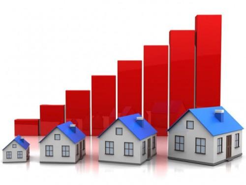 Ilustrasi tren peningkatan properti (istimewa)