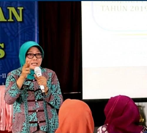 Sekretaris Dinas Pendidikan Kabupaten Malang Puji Hariwati menekankan pentingnya memberi ruang pelajar untuk mengembangkan bakatnya (Nana)