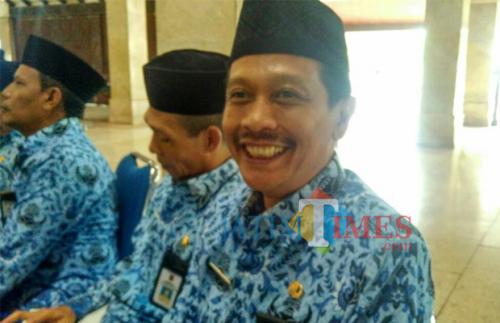 Kepala Dinas Perumahan Kawasan Pemukiman dan Cipta Karya Kabupaten Malang, Wahyu Hidayat (Foto Dok MalangTIMES)
