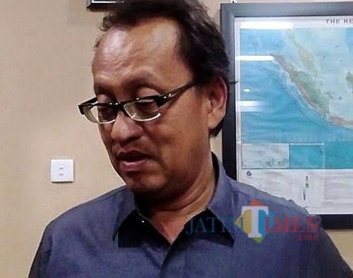 Hari Sasongko Ketua DPRD Kabupaten Malang (Foto : Nana/MalangTIMES)