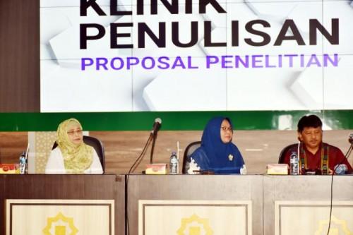 Klinik Penulisan UIN Malang. (Foto: Humas)