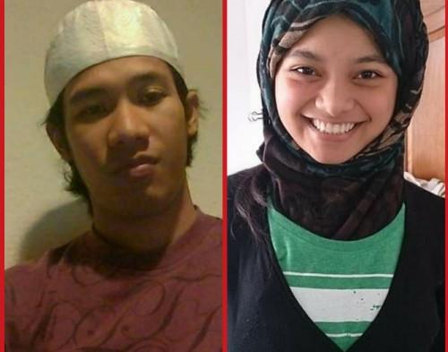Aris Alfian Dan Calon Istrinya Anak Agung Ayu Widya Srikandi / Foto : Istimewa / Tulungagung TIMES