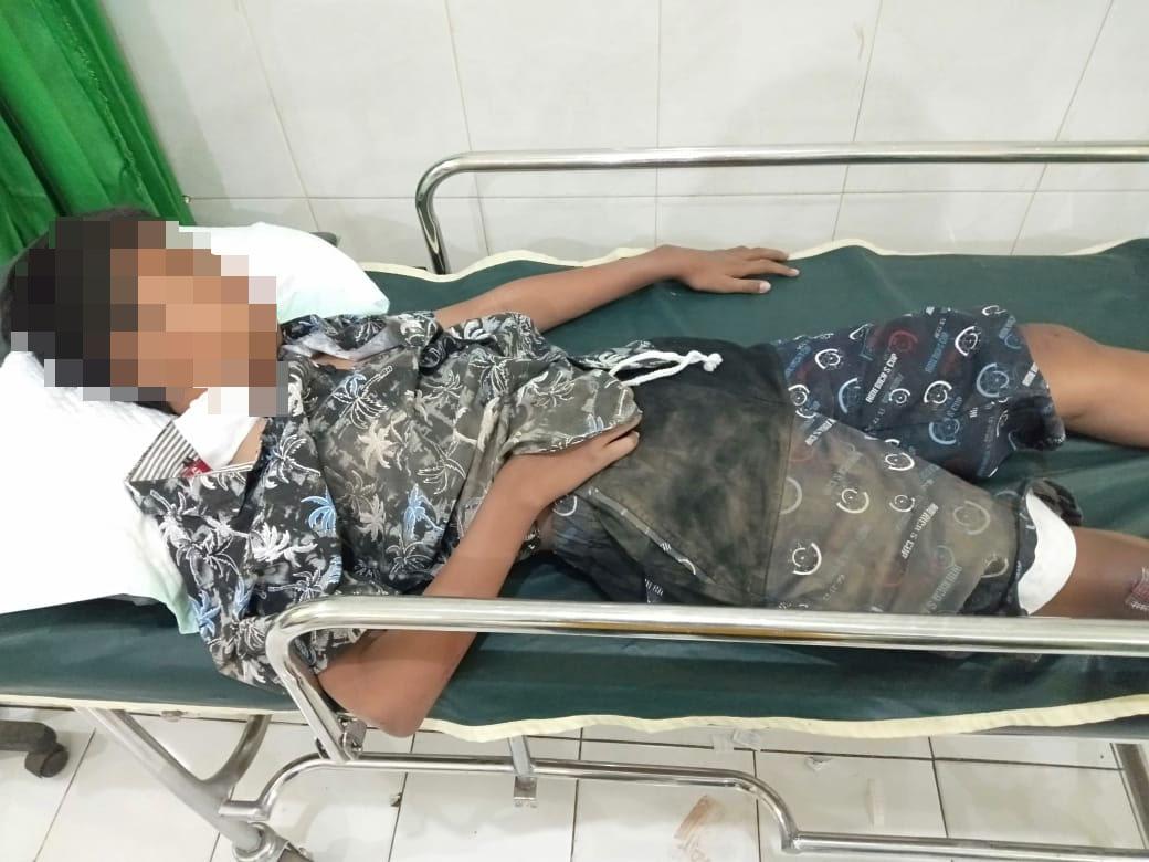 Bocah 13 Tahun Kritis usai Terjerat Benang Layangan | Jatim TIMES