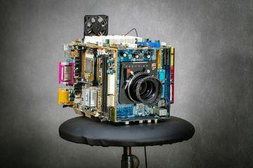 Kreatif, Kamera Ini Terbuat dari Komputer Bekas Lho