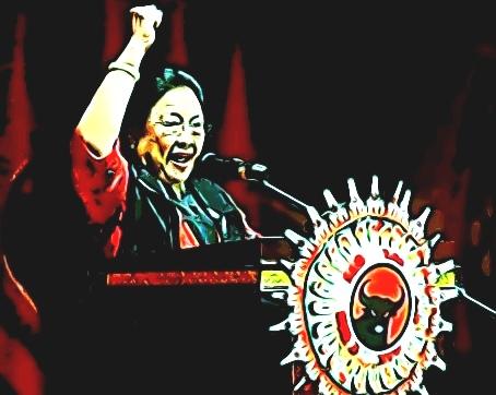 Megawati Soekarnoputri Ketum PDI-Perjuangan meminta jatah kursi menteri untuk kadernya lebih banyak dibanding partai lain (Ist)