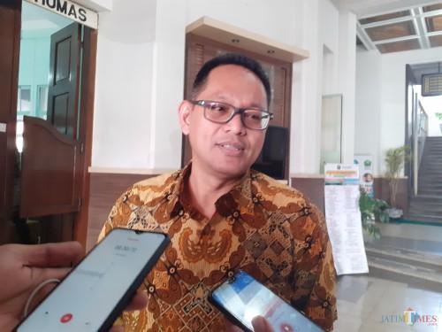 Perwakilan PT Matahari Departmen Store Pusat, Heru Wahyu saat ditemui awak media (Arifina Cahyanti Firdausi/MalangTIMES)