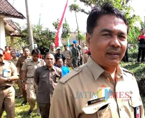 Kepala Dinas Pekerjaan Umum Bina Marga Kabupaten Malang Romdhoni, kembali ajukan perubahan status jalan di wilayahnya (foto: Nana/ MalangTIMES)