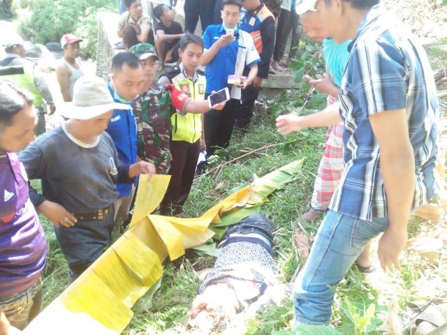Kondisi Mr. X, korban tewas tertempar KA Probowangi, Sabtu (10/8/19).