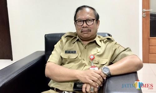 Kepala Badan Keuangan Kota Batu (BKD) Kota Batu, Eddy Murtono. (Foto: Irsya Richa/MalangTIMES)