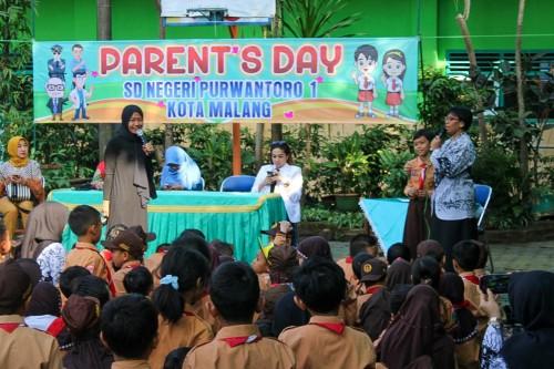 Parents Day SDN Purwantoro 1 Malang. (Foto: Humas)