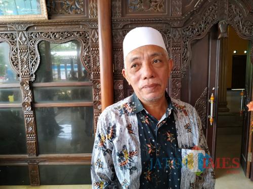 KH Muhammad Damanhuri Ketua MUI Kecamatan Campurdarat (Foto  Anang Basso / TulungagungTIMES)