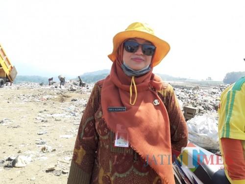 Plt kepala DLH Kota Malang, Diah Ayu Kusumadewi (Arifina)