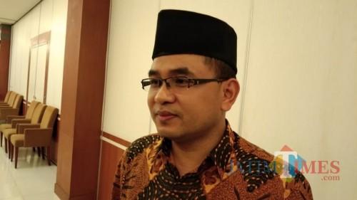 ketua KPU Tulungagung, Mustofa (foto : Joko Pramono/JatimTIMES)