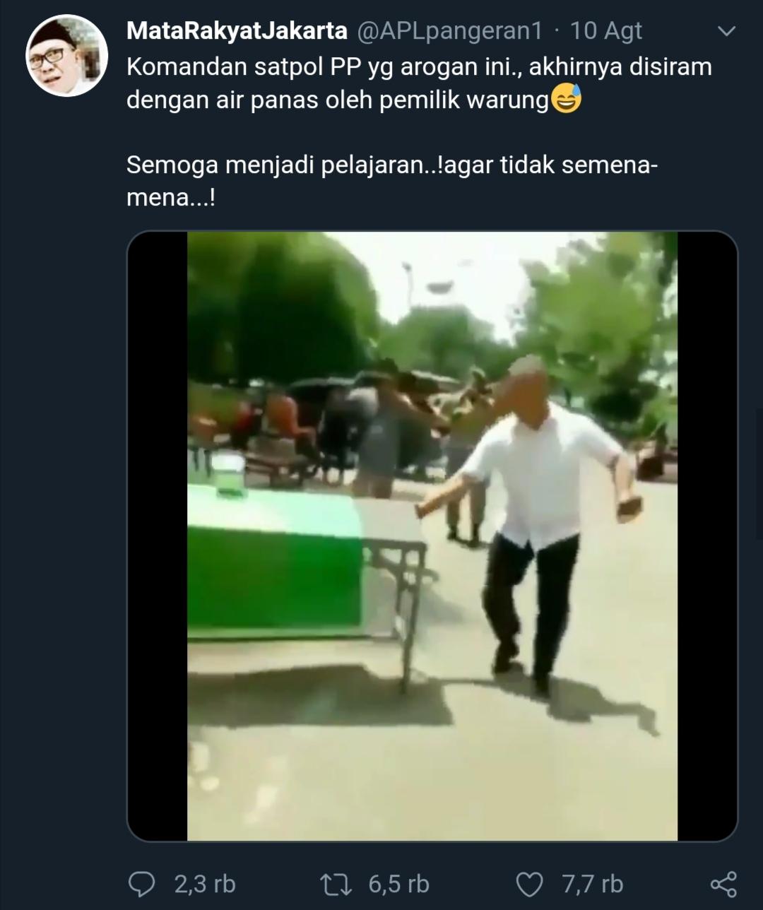 Screenshot video @APLPangeran 1