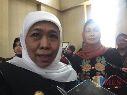 Gubernur Jawa Timur Khofifah Indar Parawansa (Irsya)