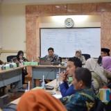 Tim TPID Kota Kediri saat gelar rapat koordinasi. (eko Arif s /JatimTimes)