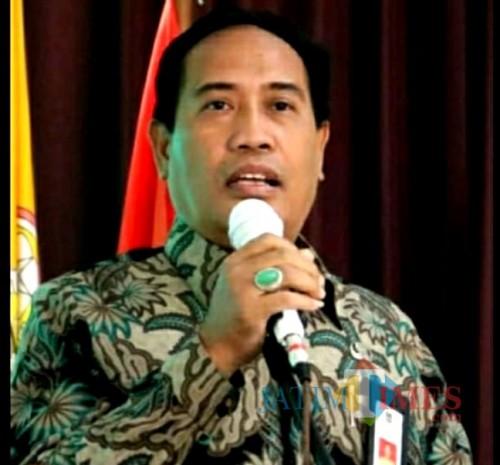 M Hidayat Kepala Dinas Pendidikan Kabupaten Malang mengatakan masih butuh GTT di satu sisi dan juga mendukung kebijakan Mendikbud Muhadjir Effendy terkait stop angkat guru honorer (Nana)