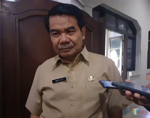 Sekretaris Daerah Kota Malang Wasto (Arifina Cahyanti Firdausi/MalangTIMES)