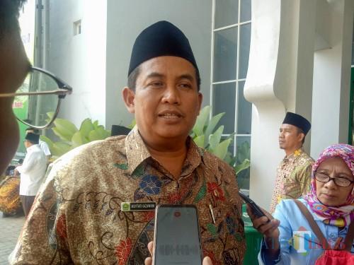 Kepala Kantor Kementerian Agama (Kemenag) Kota Malang, Mukhtar Hazawawi. (Foto: Imarotul Izzah/MalangTIMES)