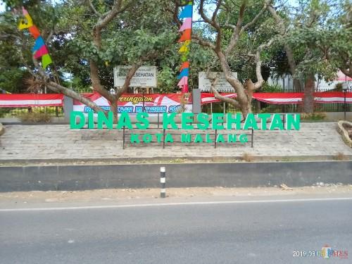Kantor Dinkes Kota Malang yang beberapa waktu lalu disatroni perampok (Anggara Sudiongko/MalangTIMES)