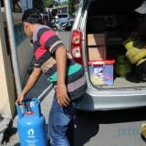 Usaha Pengoplosan Elpiji Bersubsidi di Jombang Digerebek Polisi